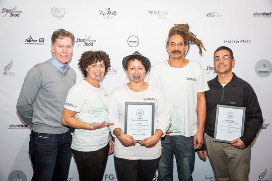 We have a winner! Fine Food New Zealand recognises industry innovations