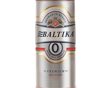 Beer Baltika No.0 - Alcohol FREE 500 ml can
