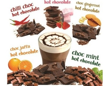 ALL Natural Flavoured Hot Chocolates