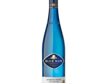 Authentic White Wine Blue Nun