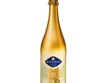 Sparkling Wine Blue Nun 22 K GOLD EDITION