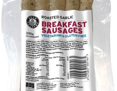 Bean Supreme Vegetarian Breakfast Sausages