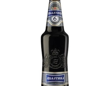 Beer Baltika No.6 - 500 ml bottle - 7.0% Alc