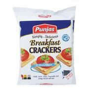 Punja's Breakfast Crackers