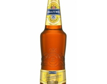 Beer Baltika No.8 - 500 ml bottle - 5.0% Alc