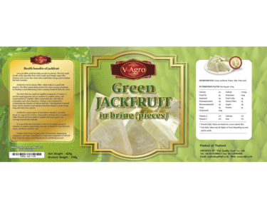 Canned Green Jack fruit