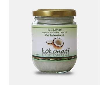 Organic White cooking coconut Oil